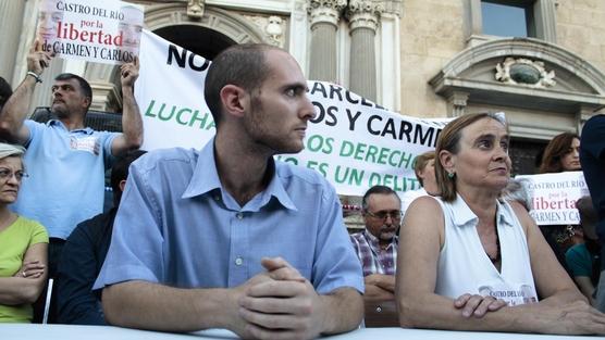 Carlos y Carmen, condenados por defender nuestros derechos
