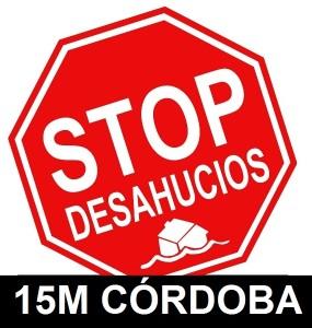 logo 15M STOP DESAHUCIOS CÓRDOBA