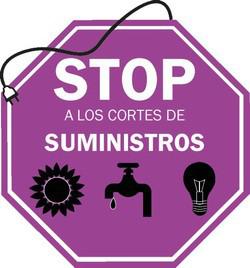 Stop a los cortes de suministros básicos